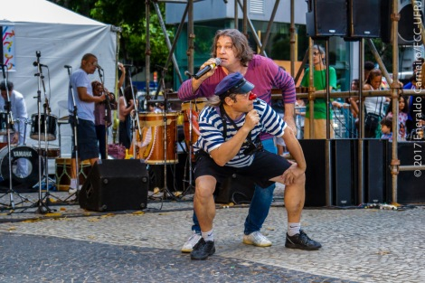 05/11/2017. Abertura do II FestFic, no Largo do Machado.